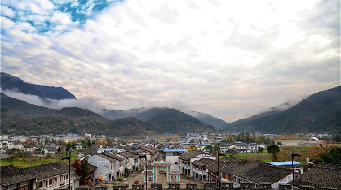 绿野青川 全域风景
